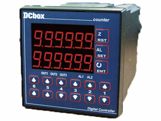 DCO7266 Digital Located Counter with Hi/Go/Lo Alarms