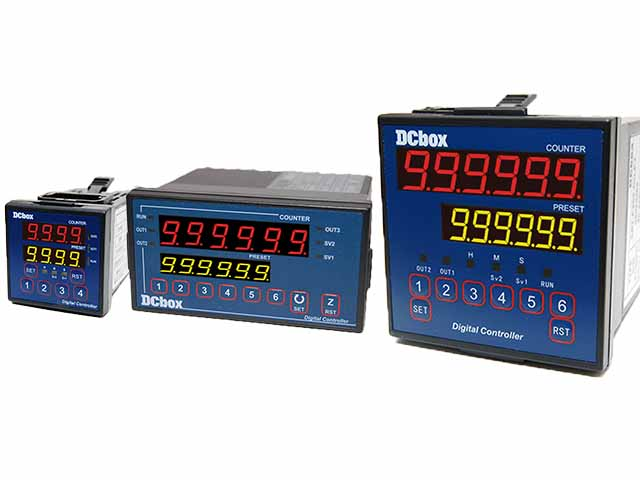 CR6 Digital Counter with Dip Switch