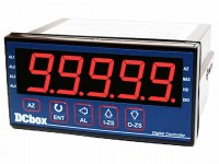 LM55 Digital Microprocessor Meter with 5 Alarms & Analog Output Simulation