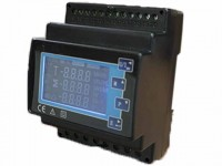 CPM-6DIN Rail Type LCD Multifunctional Power Meter